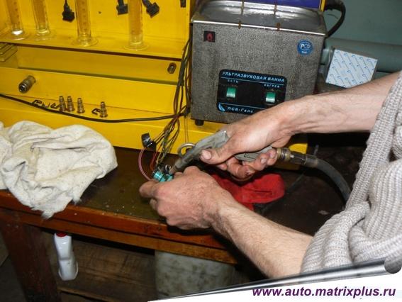 Очистки инжектора своими руками